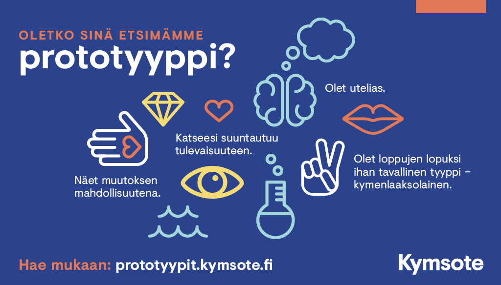Prototyypit - Oletko sinä etsimämme prototyyppi?